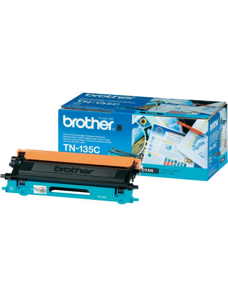 Toner Originale Brother TN-135C (Ciano 4000 pagine)