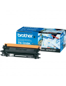 Toner Originale Brother TN-135BK (Nero 5000 pagine)