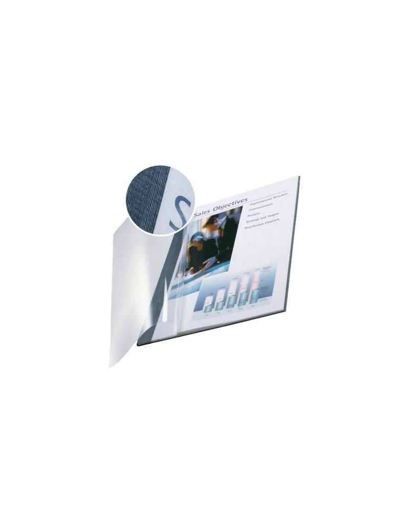 Copertine Flessibili con Fronte Trasparente Esselte - 106-140 Fogli - 74150035 (Blu Marina Conf. 10)