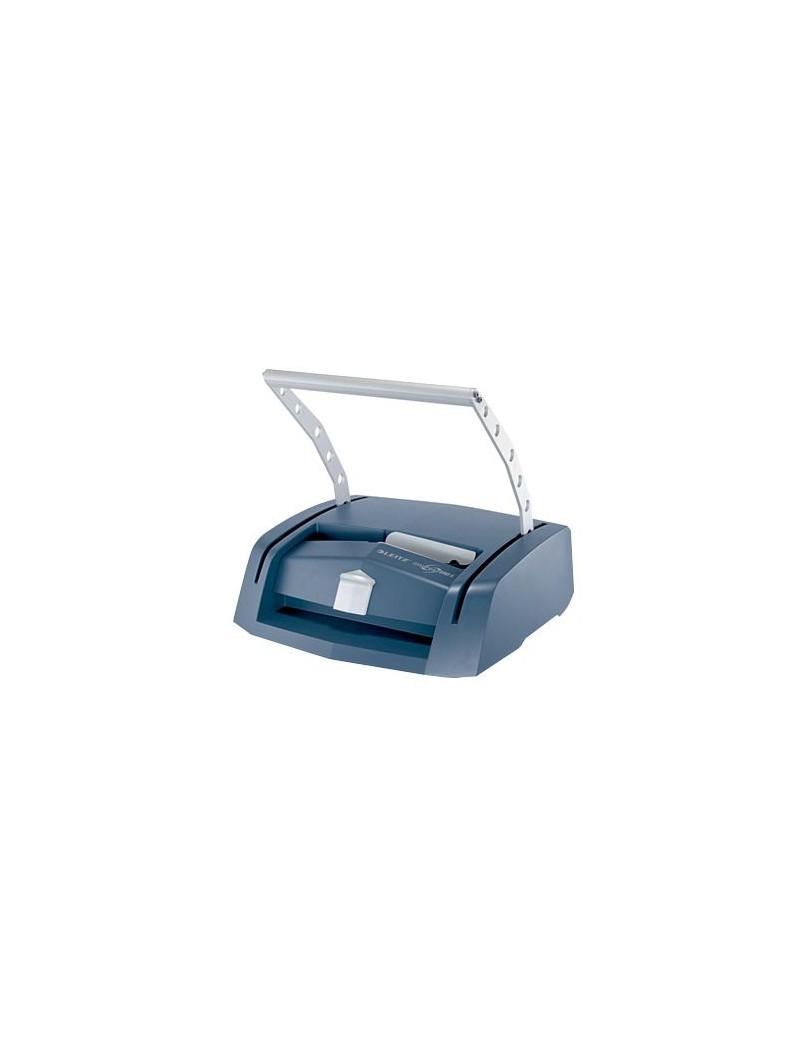 Rilegatrice ImpressBind 280 Leitz - 280 Fogli - 73880000 (Blu e Grigio Metallizzato)