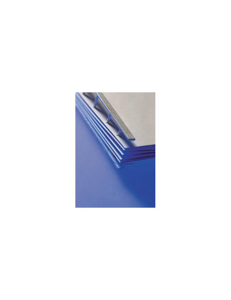 Pettini per Rilegatura a Pettine Velobind GBC - 2-200 Fogli - A9741640 (Rosso Conf. 25)