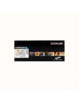 Developer Originale Lexmark C540X32G (Ciano)