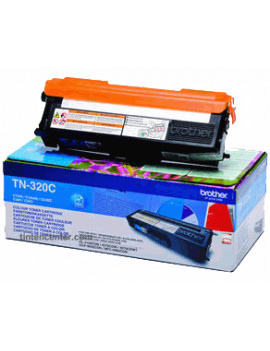 Toner Originale Brother TN-320C (Ciano 1500 pagine)