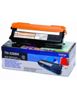 Toner Originale Brother TN-328BK (Nero 6000 pagine)
