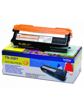 Toner Originale Brother TN-328Y (Giallo 6000 pagine)