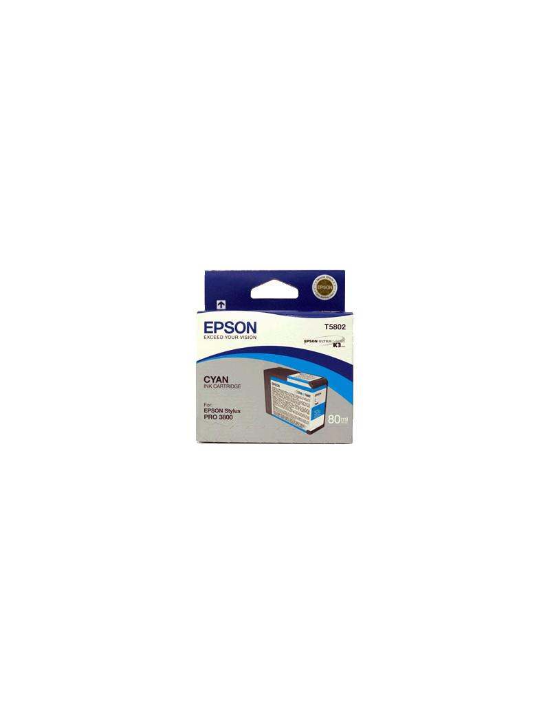Cartuccia Originale Epson T580200 (Ciano)
