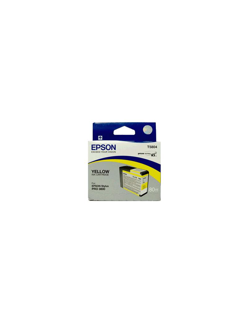 Cartuccia Originale Epson T580400 (Giallo)