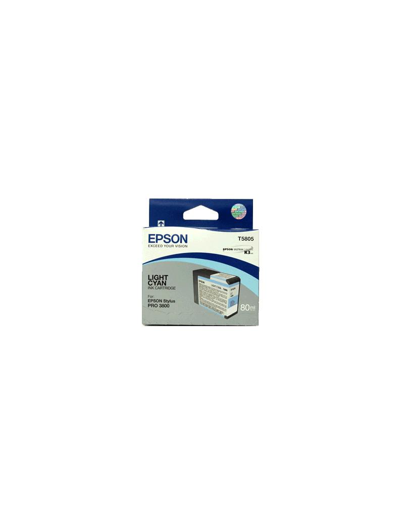 Cartuccia Originale Epson T580500 (Ciano Chiaro)