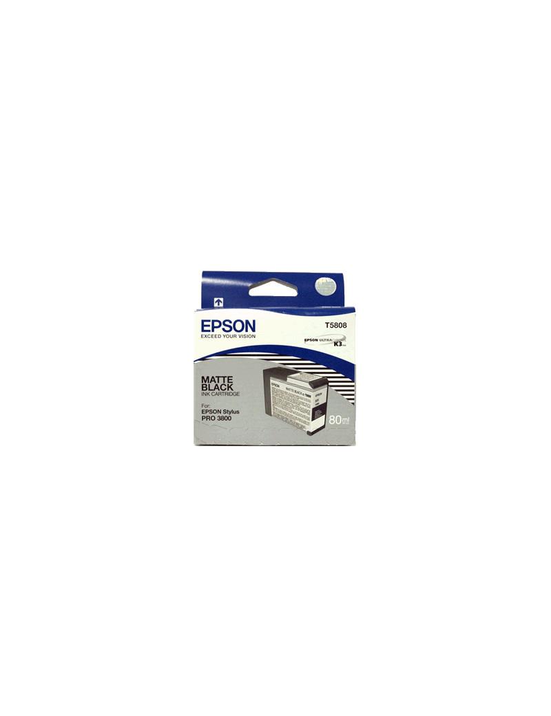 Cartuccia Originale Epson T580800 (Nero Opaco)