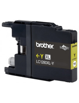 Cartuccia Originale Brother LC-1280XLY (Giallo 1200 pagine)