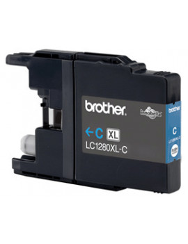 Cartuccia Originale Brother LC-1280XLC (Ciano 1200 pagine)