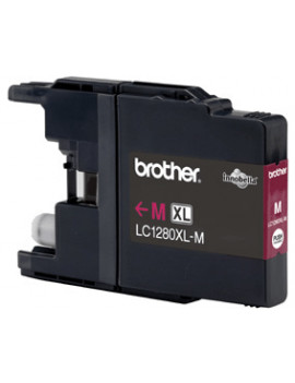 Cartuccia Originale Brother LC-1280XLM (Magenta 1200 pagine)