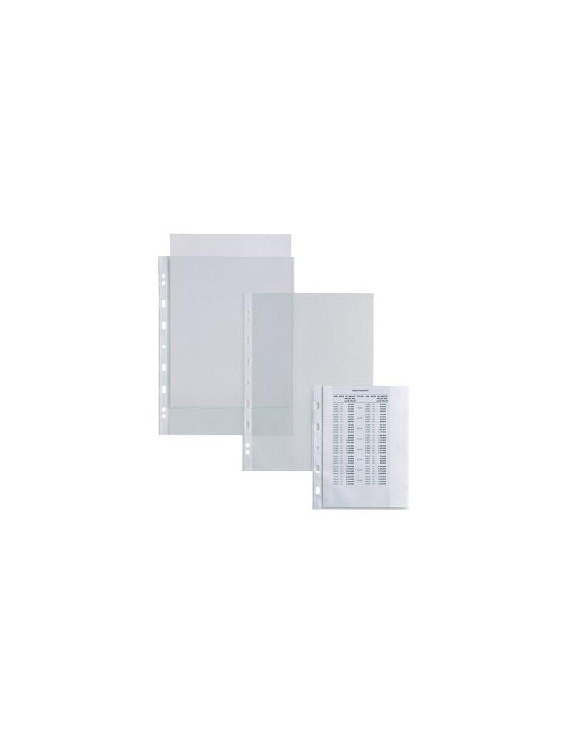Busta a Perforazione Universale Atla T Sei Rota - 21x29,7 cm - Liscia Alto Spessore - 662120 (Trasparente Conf. 50)