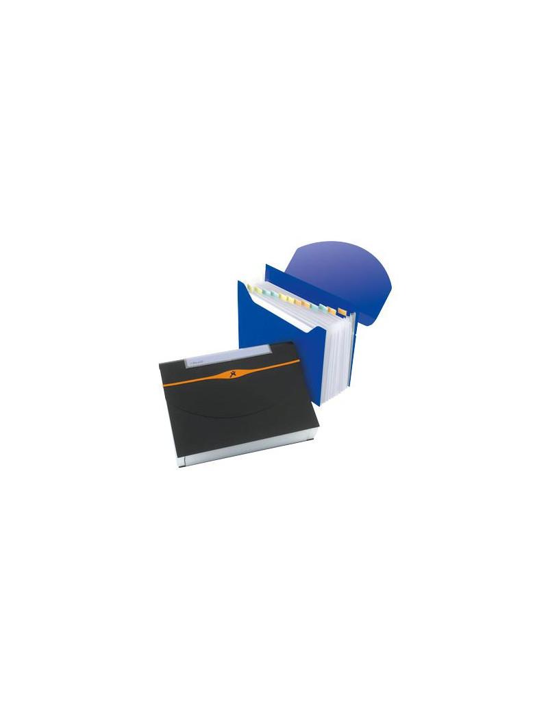Archiviatore a Soffietto Optima Rexel - 13 Tasche - 2102484 (Blu)