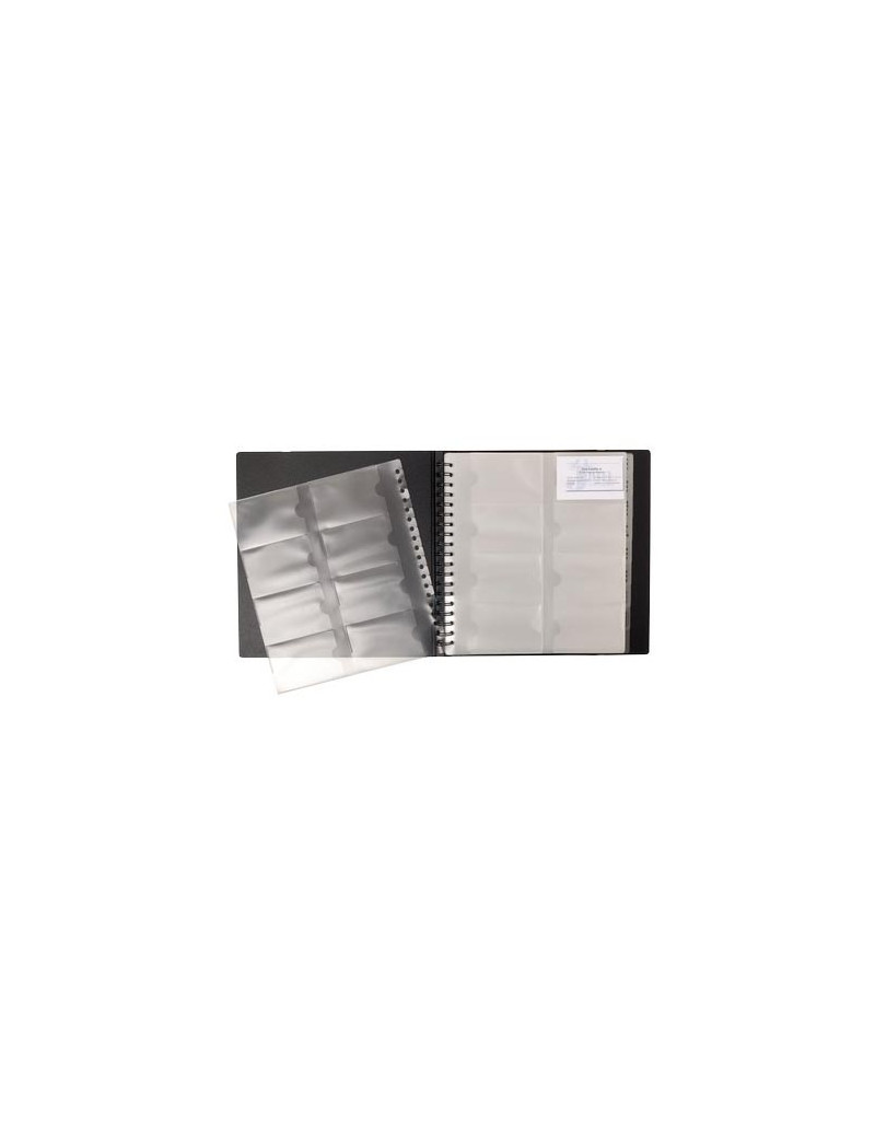 Portabiglietti da Visita Exactive Exacompta - 25x26,5 cm - 75234E (Nero)