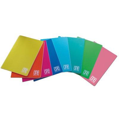 Quaderno-One-Color-Blasetti-A4-Righe-1R-senza-Margini-1413-Assortiti-Conf