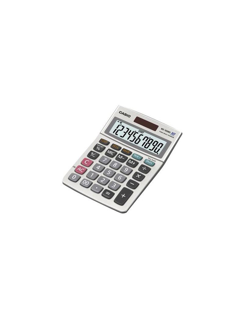Calcolatrice da Tavolo Casio MS-100MS (Grigio)