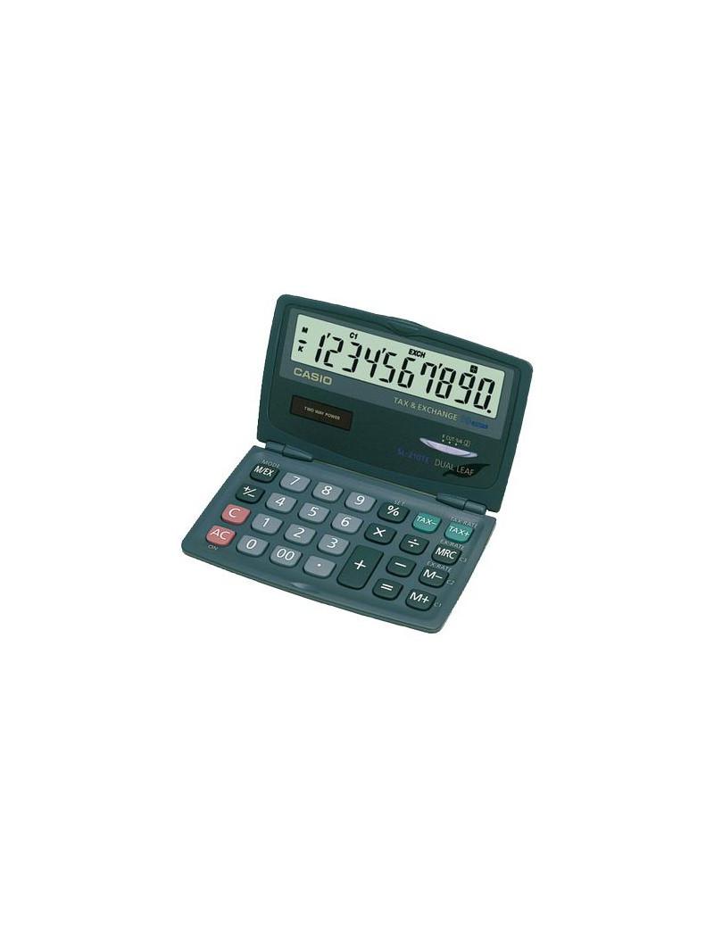 Calcolatrice Tascabile Casio SL-210TE (Grigio)