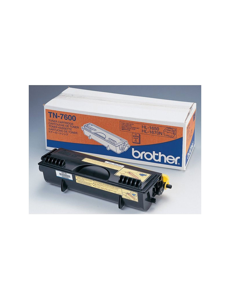 Toner Originale Brother TN-7600 (Nero 6500 pagine)