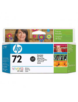 Cartuccia Originale HP C9370A 72 (Nero Foto 130 ml)