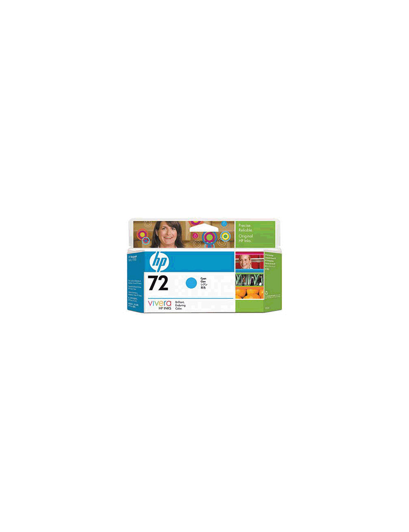 Cartuccia Originale HP C9371A 72 (Ciano 130 ml)
