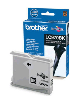 Cartuccia Originale Brother LC-970BK (Nero 350 pagine)