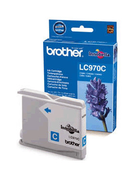 Cartuccia Originale Brother LC-970C (Ciano 300 pagine)
