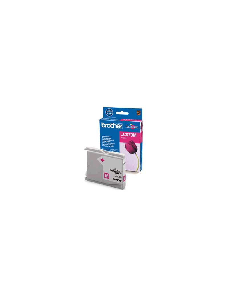 Cartuccia Originale Brother LC-970M (Magenta 300 pagine)