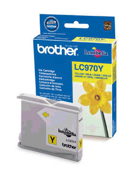 Cartuccia Originale Brother LC-970Y (Giallo 300 pagine)
