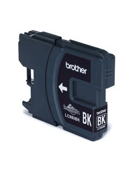 Cartuccia Originale Brother LC-980BK (Nero 300 pagine)