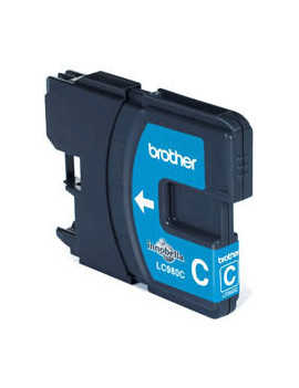 Cartuccia Originale Brother LC-980C (Ciano 260 pagine)