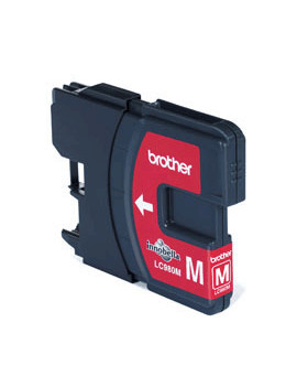 Cartuccia Originale Brother LC-980M (Magenta 260 pagine)