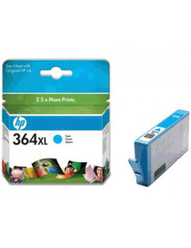 Cartuccia Originale HP CB323EE 364 (Ciano XL)