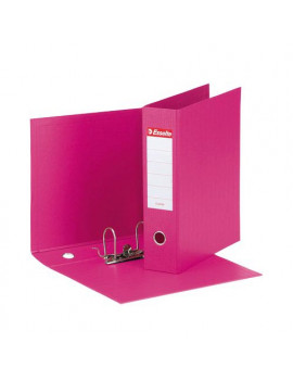 Registratore Eurofile Esselte - Commerciale - Dorso 8 - 23x30 cm - 390753900 (Fucsia)