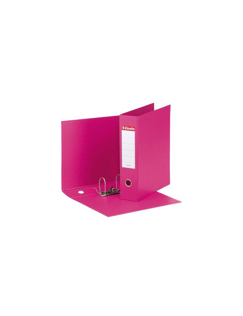 Registratore Eurofile Esselte - Commerciale - Dorso 8 - 23x30 cm - 390753900 (Fucsia)