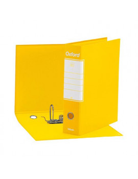 Registratore Oxford G85 Esselte - Protocollo - Dorso 8 - 23x33 cm - 390785090 (Giallo Conf. 6)