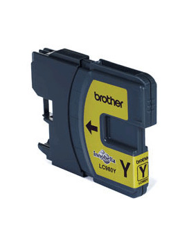 Cartuccia Compatibile Brother LC-980Y (Giallo 260 pagine)
