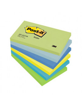 Post-it Note Dream 655-MTDR 3M - 76x127 mm - 67660 (Verde e Blu Conf. 6)