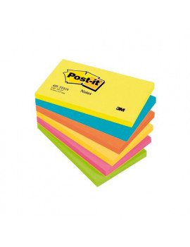 Post-it Note Energy 655-TFEN 3M - 76x127 mm - 67665 (Neon Arcobaleno Conf. 6)