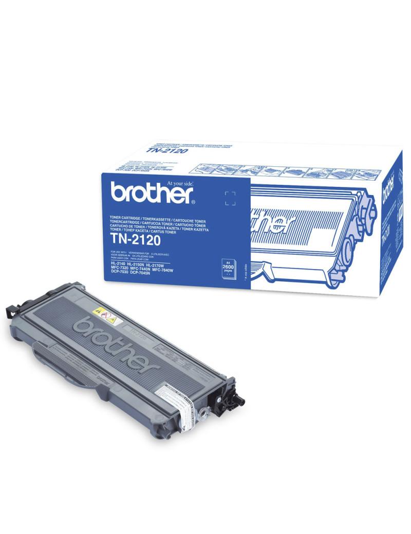 Toner Originale Brother TN-2120 (Nero 2600 pagine)