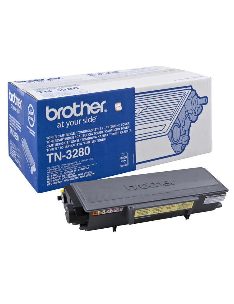 Toner Originale Brother TN-3280 (Nero 8000 pagine)