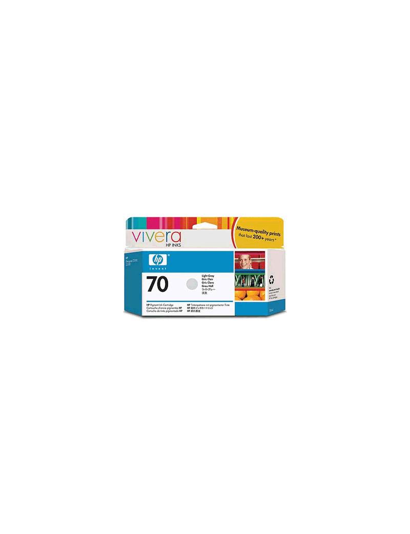 Cartuccia Originale HP C9451A 70 (Grigio Chiaro 130 ml)