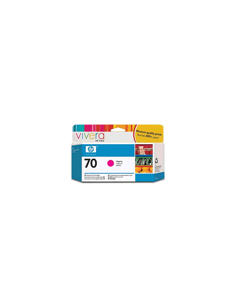 Cartuccia Originale HP C9453A 70 (Magenta 130 ml)