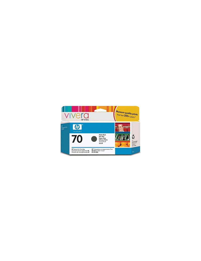 Cartuccia Originale HP C9448A 70 (Nero Opaco 130 ml)