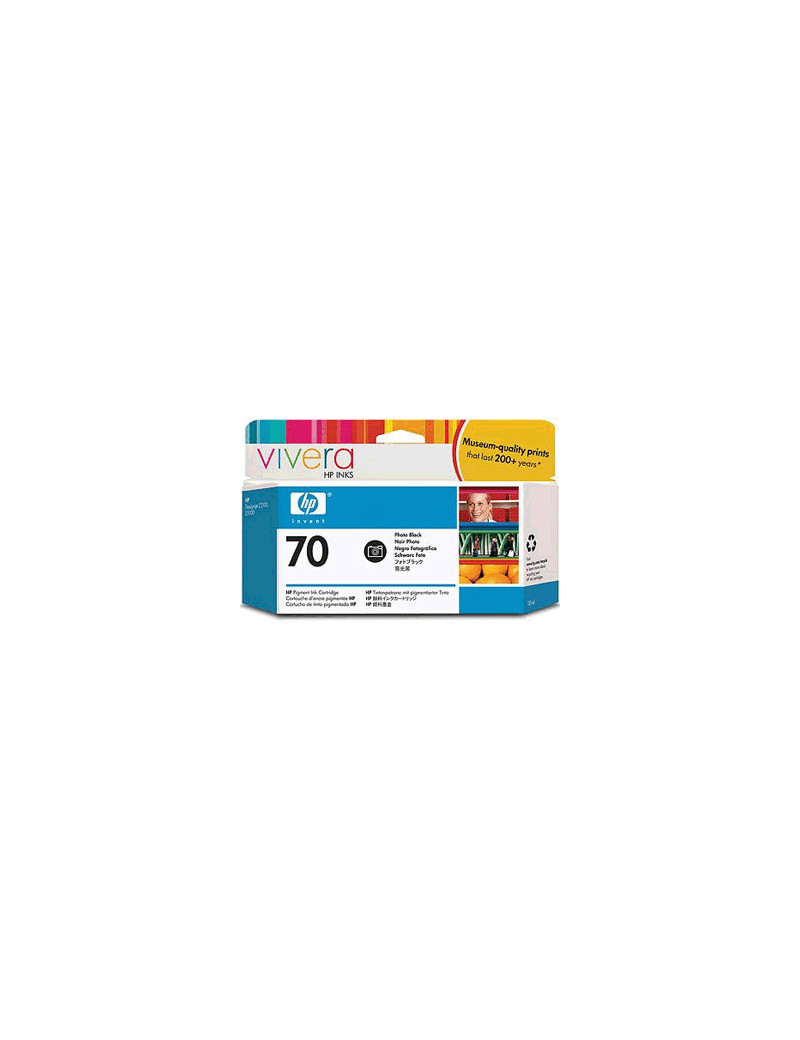 Cartuccia Originale HP C9449A 70 (Nero 130 ml)