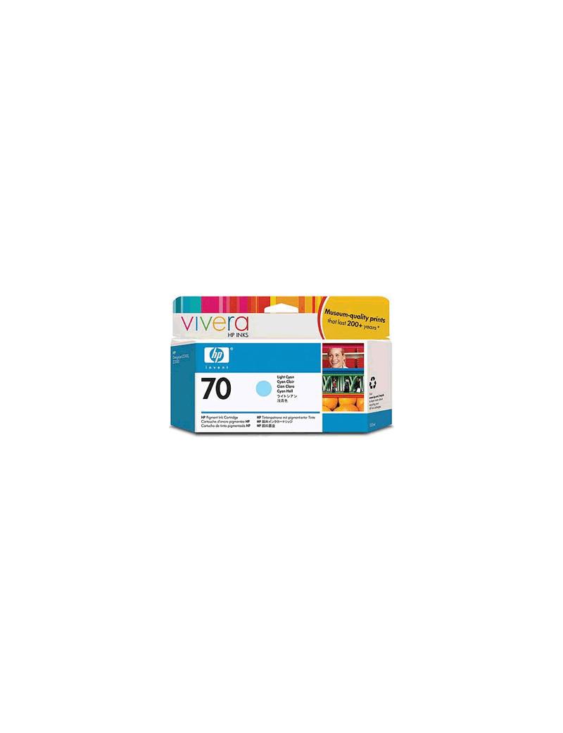 Cartuccia Originale HP C9390A 70 (Ciano Chiaro 130 ml)
