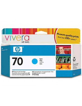 Cartuccia Originale HP C9452A 70 (Ciano 130 ml)