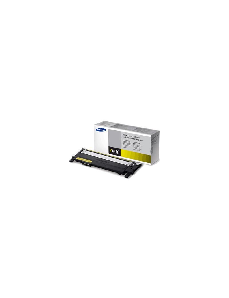Toner Originale Samsung CLT-Y406S SU462A (Giallo 1000 pagine)