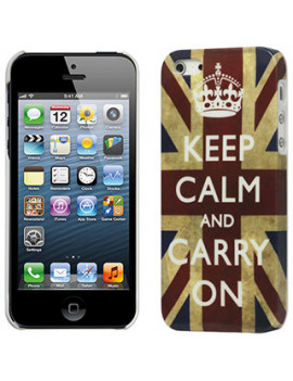 Cover Bandiera U.K. Keep Calm per iPhone 5 5S