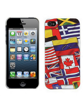 Cover Bandiera Mixed Flags per iPhone 5 5S